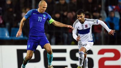 Arjen Robben y Daniel da Mota