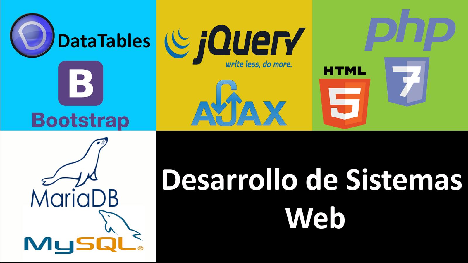 Desarrollo de sistemas web en PHP 7 POO, MySQL, Jquery Ajax - www ...