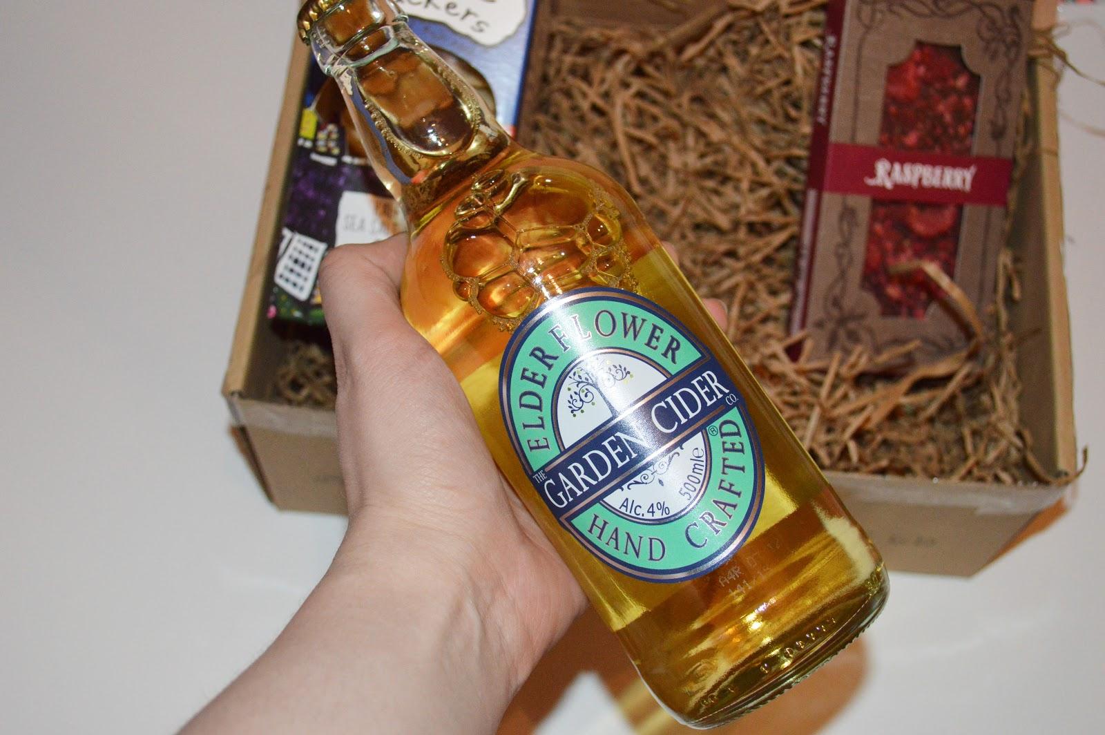 Elderflower Garden Cider