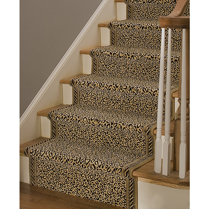 Animal Print Rug Runners For Stairs: Chinoiserie Chic: The Chinoiserie Stair Runner