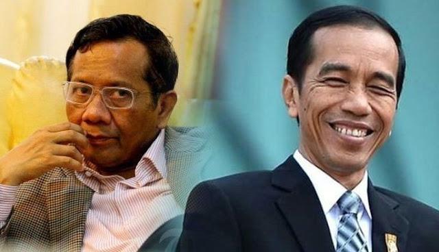 Kumpulkan Parpol Koalisi, Jokowi Umumkan Mahfud MD Cawapres