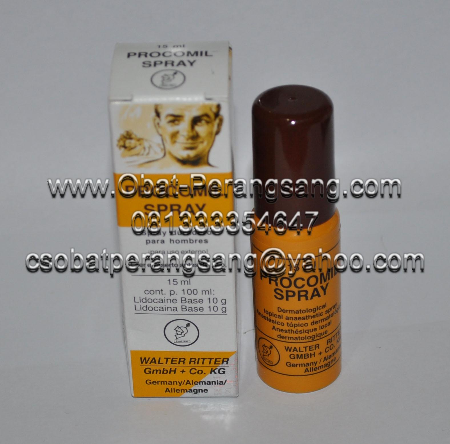 Nany Kosmetik: PROCOMIL SPRAY Obat Anti Ejakulasi Dini