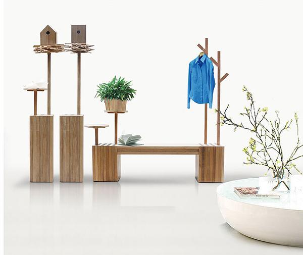 Mobiliario para jard n de madera estilo deesawat mobiliario deco - Mobiliario para jardin ...