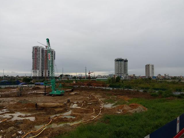 Tiến độ thi công dự án chung cư UDIC Westlake, Võ Chí Công, Phú Thượng, Nam Thăng Long, Tây Hồ