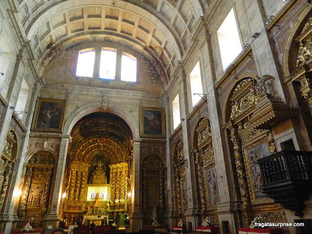 Interior da Igreja do Convento de Santa-Clara-a-Nova