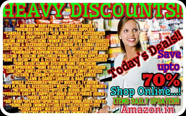 SAVE UP TO 70% : 2000+ ITEMS : OFFERS DAILY UPDATED!!!