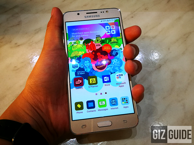 Samsung Galaxy J5 2016 unboxing and first impressions