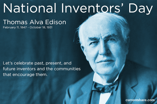 The National Inventors Day 2016