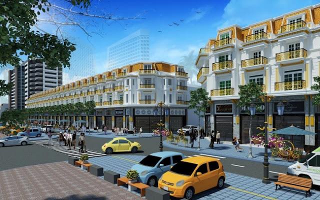 Thiết kế Shophouse Vạn Phúc Hà Đông
