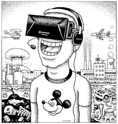 Andy Singer y la realidad virtual de nuestro tiempo