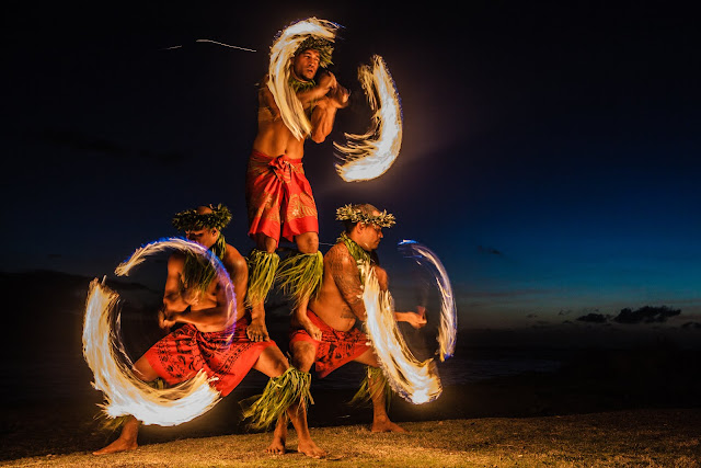 Kauai luau kauai vacation rentals blog blue sky kauai fire dancers