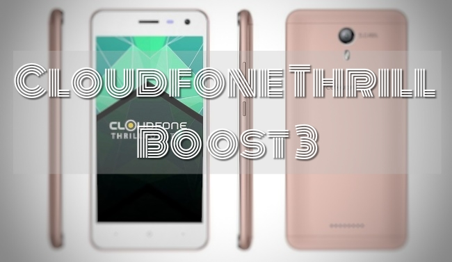 Cloudfone Thrill Boost 3