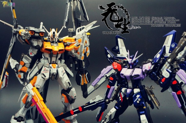 "Custom Build: MG 1/100 Perfect Strike Gundam ""Yellow Strike"""