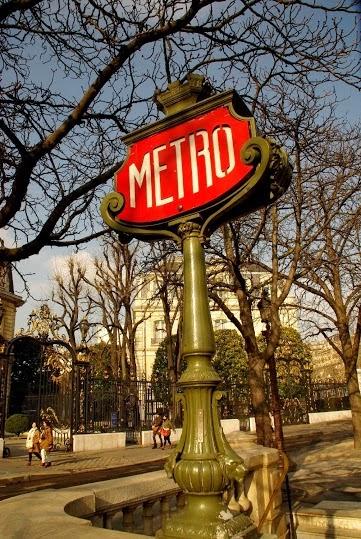 Paryż metro subway zdjecia foto galeria