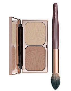 beauty, make up, high end, luxury, Charlotte Tilbury, CT, contour, cheekbones, palette, brush, Filmstar Killer cheekbones,
