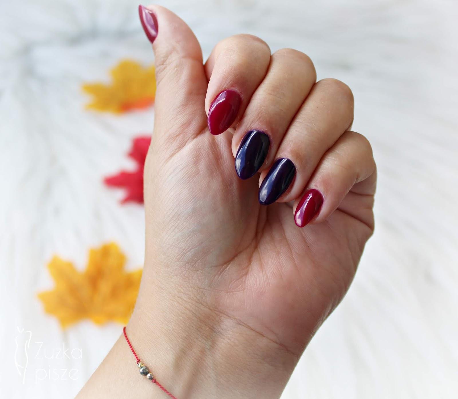 Jesienna elegancja z kolorami Say My Name & Bad Girls z nowej kolekcji DIVINITY by Osi Ugonoh - Nails Company