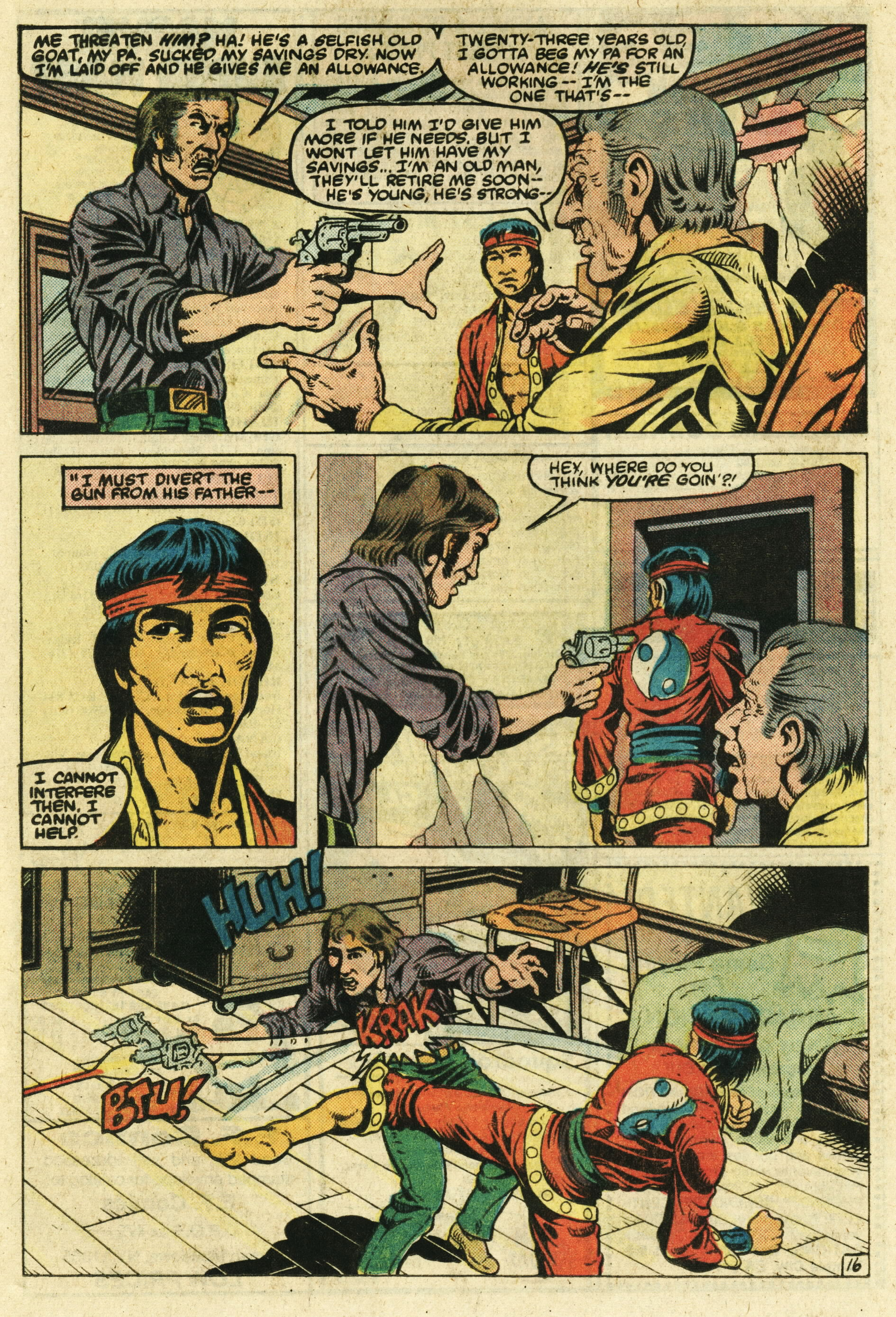 Read online Master of Kung Fu (1974) comic -  Issue #123 - 17