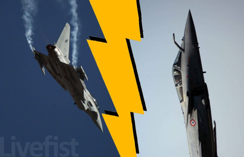 FLASH! Rafale & Typhoon Move To Next Level In M-MRCA, Others