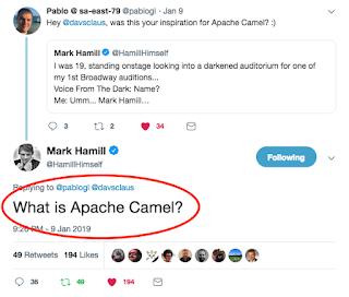 Claus Ibsen (@davsclaus) riding the Apache Camel: 2019