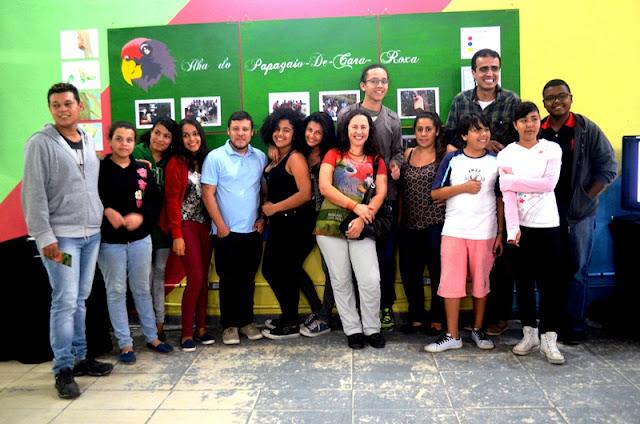 Integrantes do Ilha Jovem apresentaram seus trabalhos artísticos ao público entre os dias 28/11 e 02/12