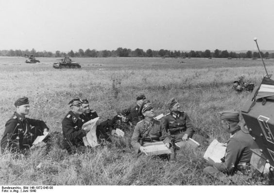 9 June 1940 worldwartwo.filminspector.com Rommel 7th Panzer Division France