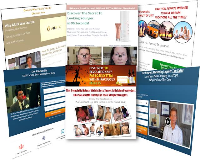 Online Marketing System