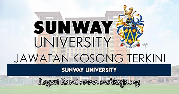 Jawatan Kosong Terkini 2018 di Sunway University