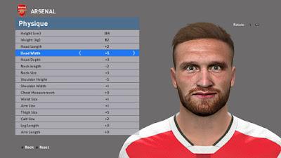 [PES16] Shkodran Mustafi | Arsenal F.C