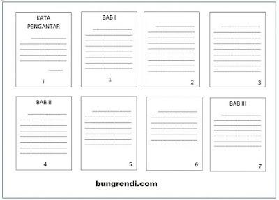 Cara Mudah Membuat Nomor Halaman Beda Format Dalam Satu File Ms.Word