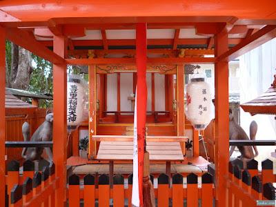 海老江八坂神社豊里稲荷神社