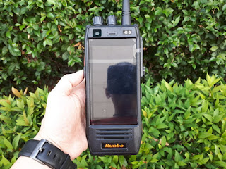Hape Outdoor Runbo H1 Walkie Talkie DMR UHF 400-450 New Android 4G LTE IP67 Certified