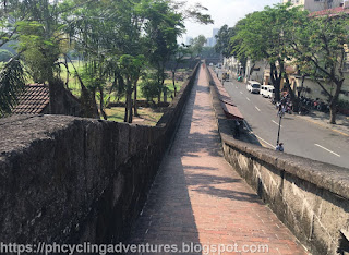 Intramuros Wall Path