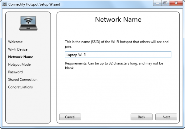how to create hotspot in windows 7 hp laptop