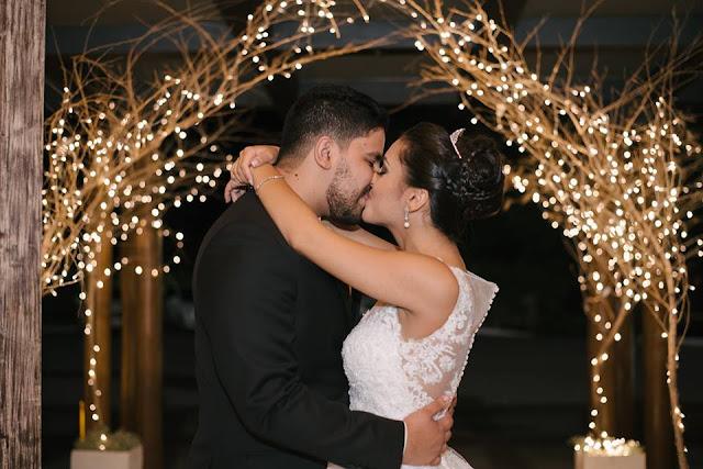 casamento real, rafaela e lucas, iluminação, casal, portal