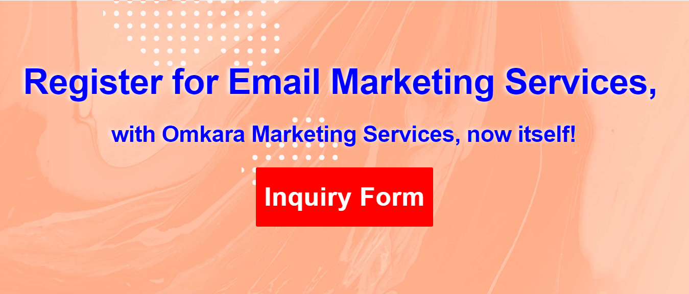 Email Marketing Services, Email Automation Workflow, Email for eCommerce-By Omkara Marketing Services