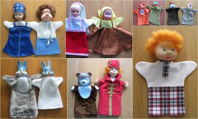 игрушки бибабо своими руками