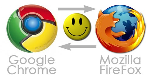 تحويل شكل فايرفوكس الى جوجل كروم  : العبقرى