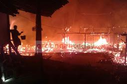 Kebakaran Kembali Hantui Grobogan, Kini Rumah Warga Geyer