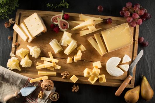 Gerichte mit Käse