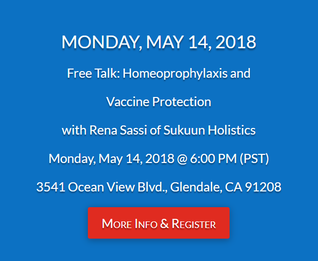 Free Talk Thursday May 14th In >> Dr Yoshi S Blog Free Talk Homeoprophylaxis What Is It