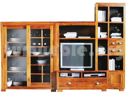 mueble modular en teca 1