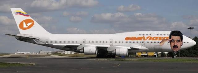 La aerolínea venezolana al garete