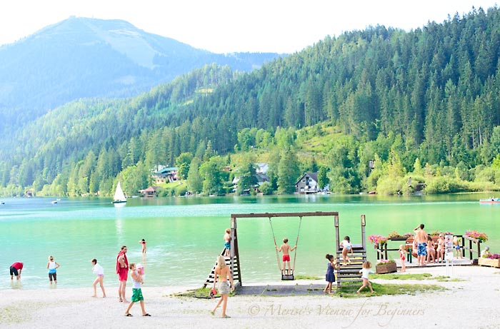 Merisi's Vienna for Beginners: Summertime Viennese EscapesErlaufsee  Mountain Lake
