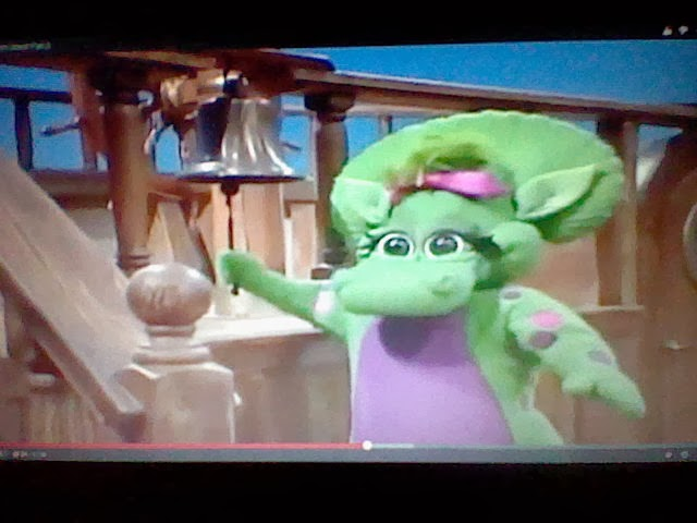 Whatsoever Critic Quot Barney S Imagination Island Quot Video Review