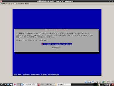 Instalando o sistema linux debian