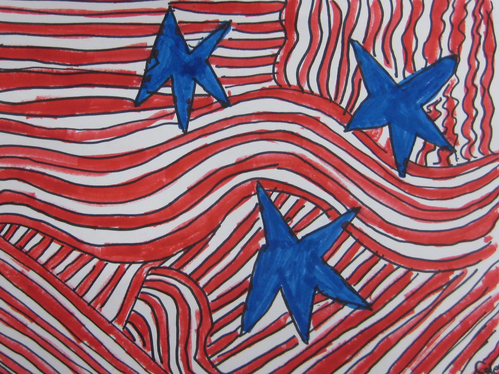 Memorial Day Flag Designs Teachkidsart