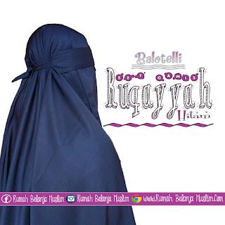 Model Jilbab Cadar Balotelli Hitam