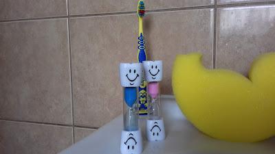 Klepsydra do mycia zębów