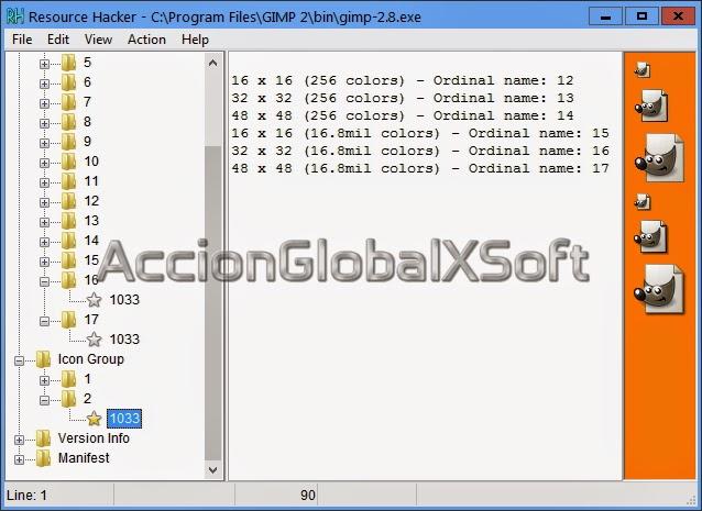 Modificar elementos de programas o del sistema operativo Windows