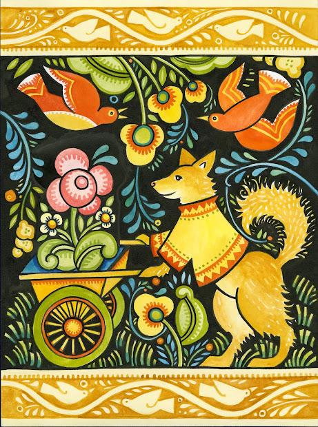 Russian Folk Art Design